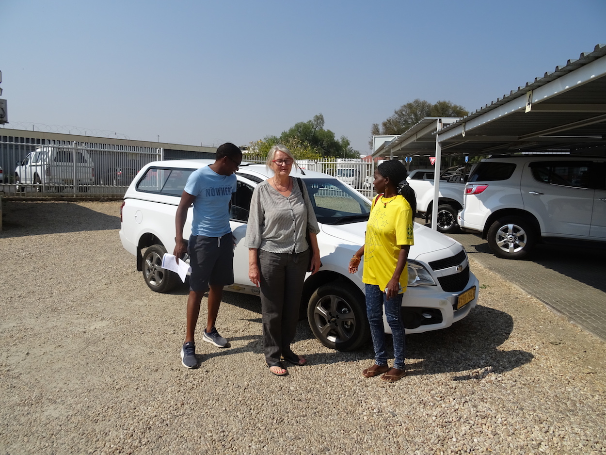 A new 'bakkie' for Home of Good Hope