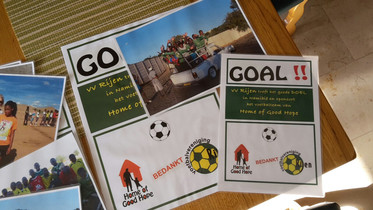 FC Rijen donates half yield boosts fundraiser to HoGH